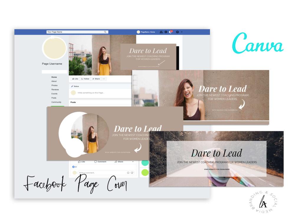 Canva Facebook Cover Template