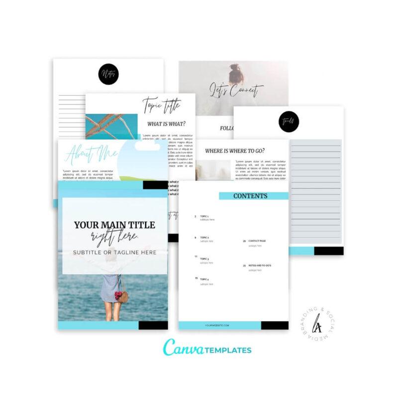 Ebook+Worksheet Canva Template