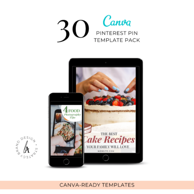 Canva Pinterest Template Pack