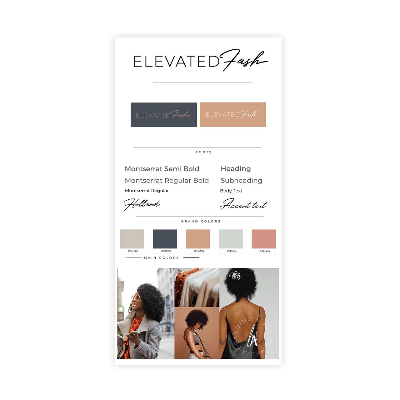 Brand Identity Design Package Lovely Abbott